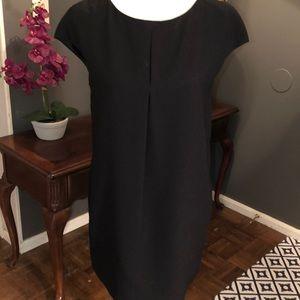 Zara New Basic black dress.